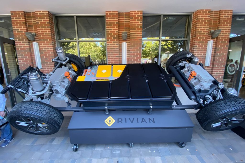 Rivian Battery Skateboard Platform